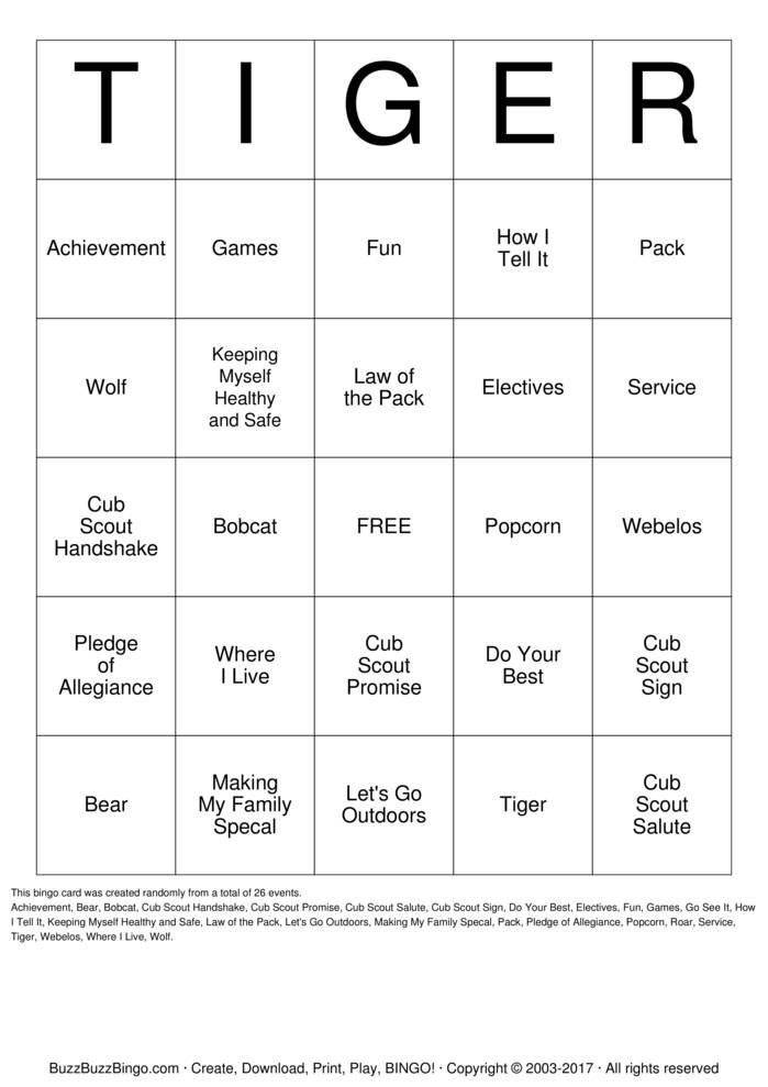 gen x bingo