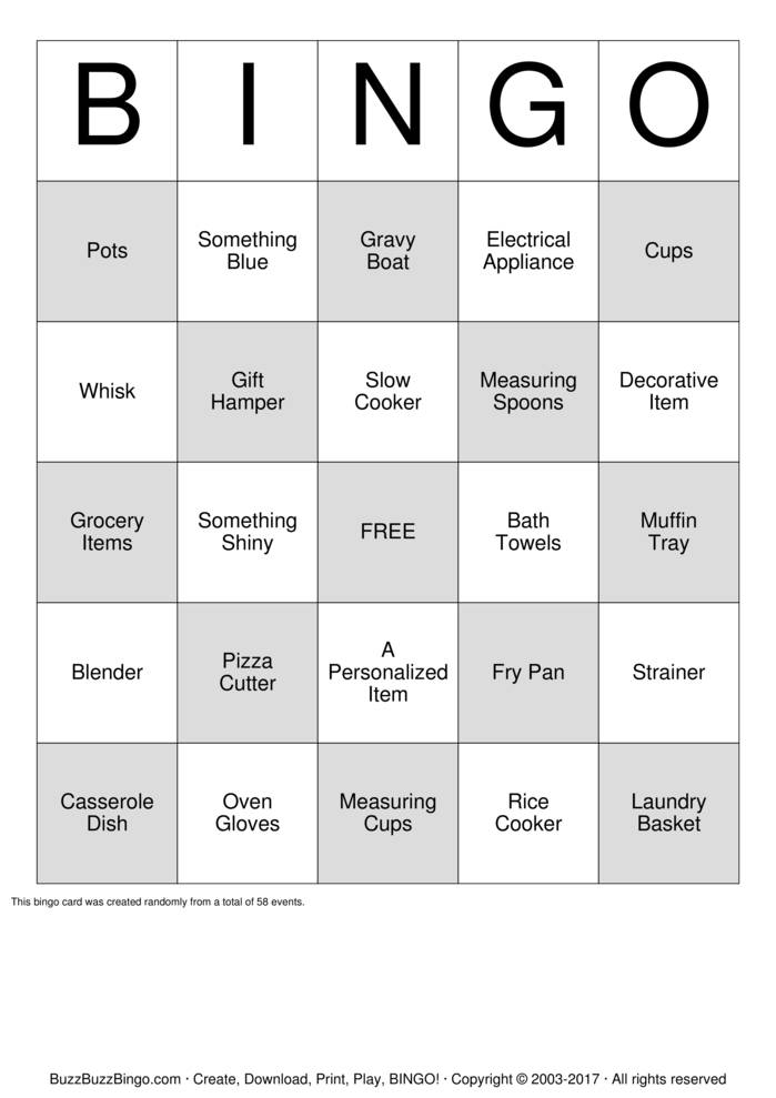 Tupperware Bingo Cards To Download Print And Customize