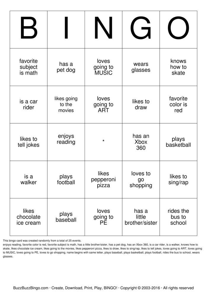 human bingo bingo cards to download print and customize With human bingo template