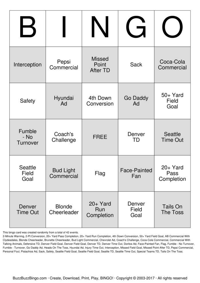 Download Harrison Superbowl Bingo Cards