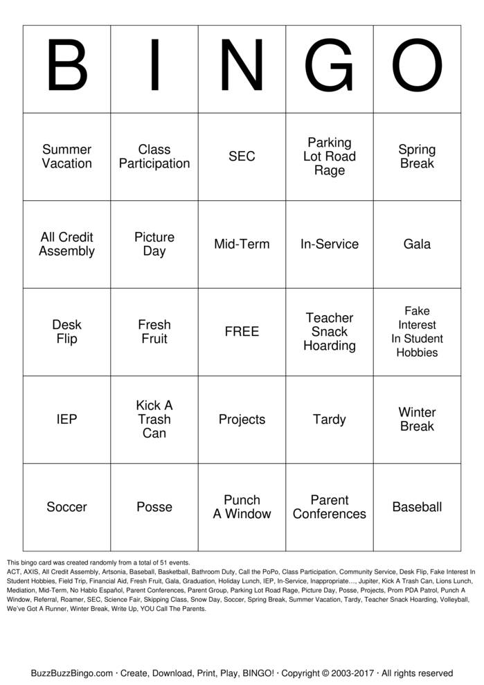 Download LOGOS Bingo Cards