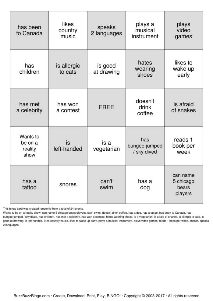 PeopleBingo-14812.jpg (699×989) | People Bingo | Pinterest ...