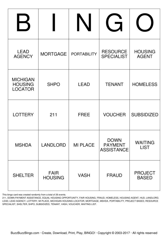 Buzz bingo vouchers