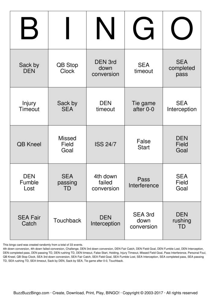 Download ISS 24/7 Superbowl Bingo Bingo Cards