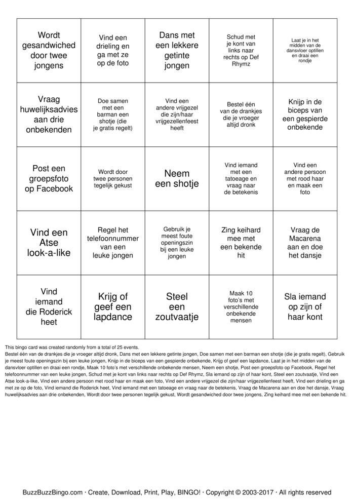 Download seo plugin Bingo Cards