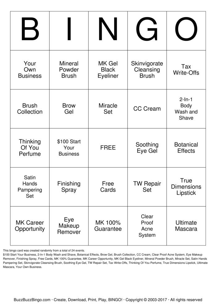 mk bingo cards to download  print and customize