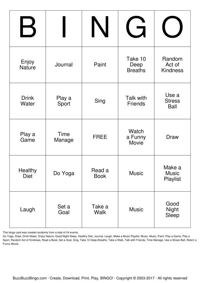 Download sexual health Bingo Cards