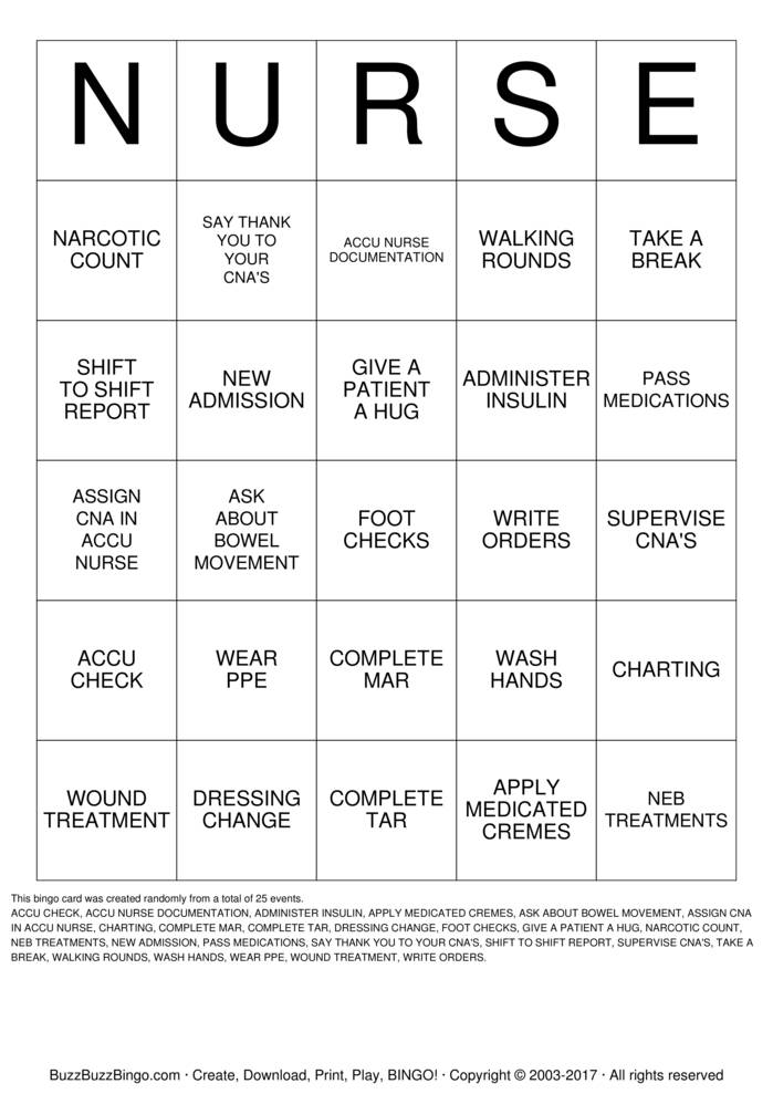 Download CNA Bingo Cards