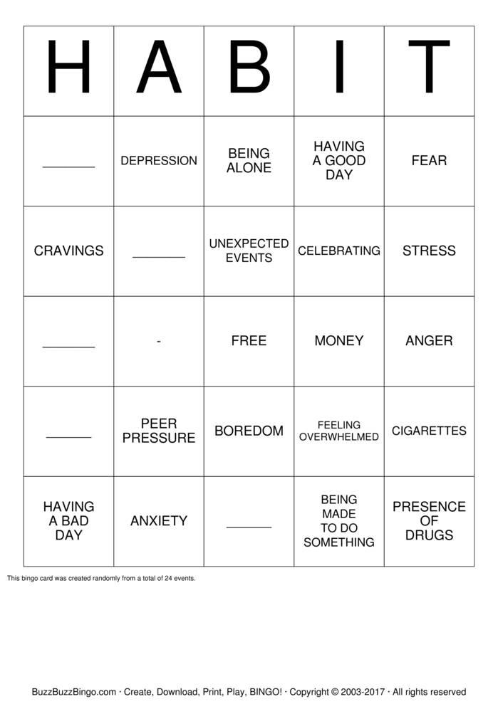 bingo cards to print pdf