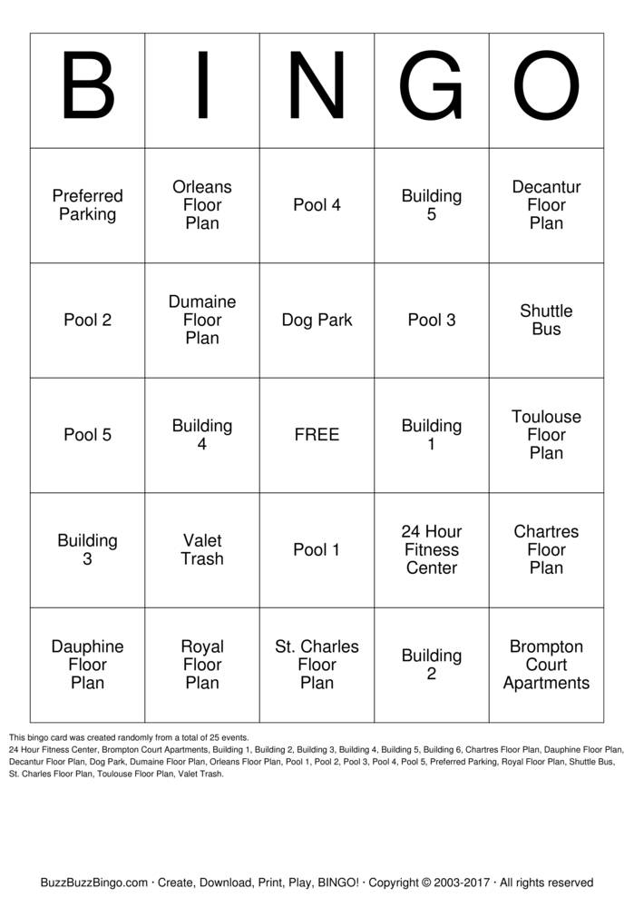 custom bingo cards to download  print and customize