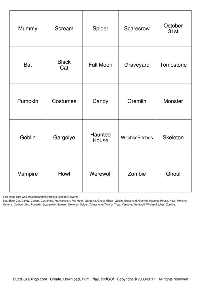 Download usiofk Bingo Cards