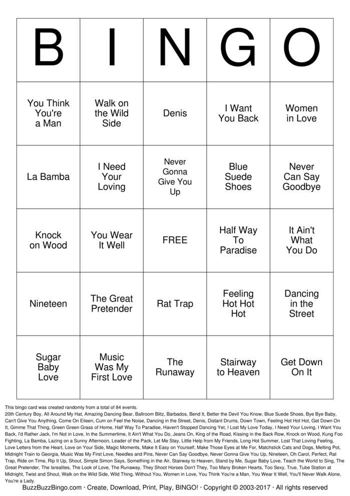 Download Tipsy Tea Party Bingo Cards