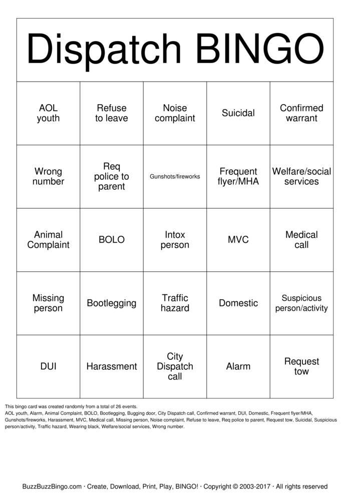 tows bingo essay