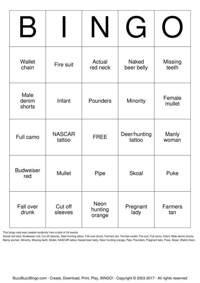 Download tatt2 Bingo Cards