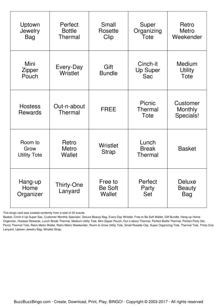 Download LIVE PD Bingo Cards