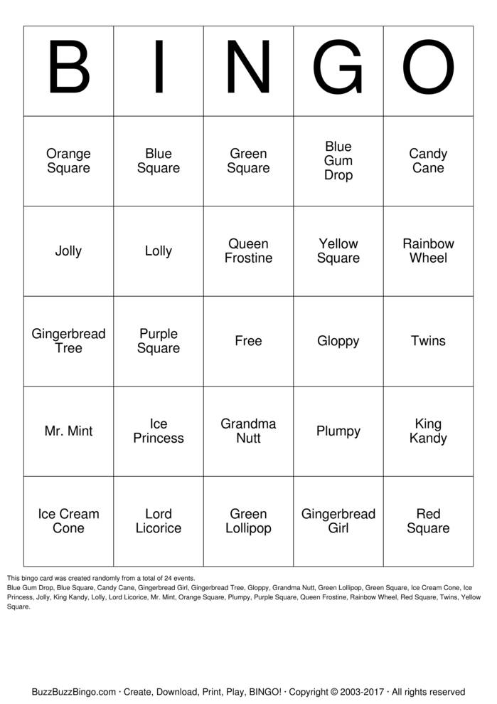 random bingo cards related keywords