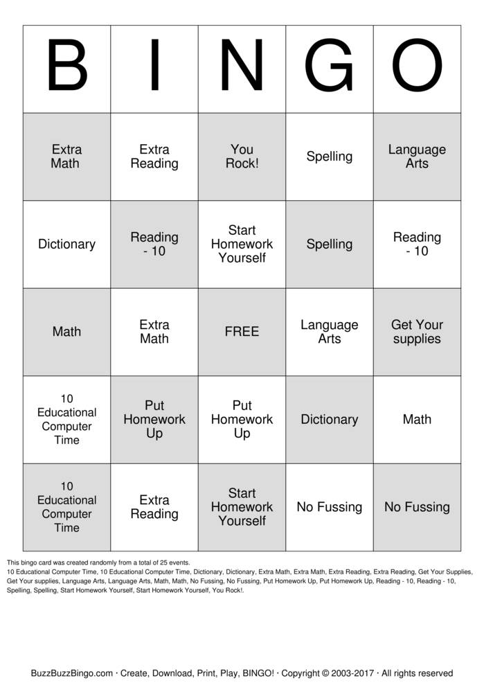 graphic relating to Math Bingo Printable known as A math bingo