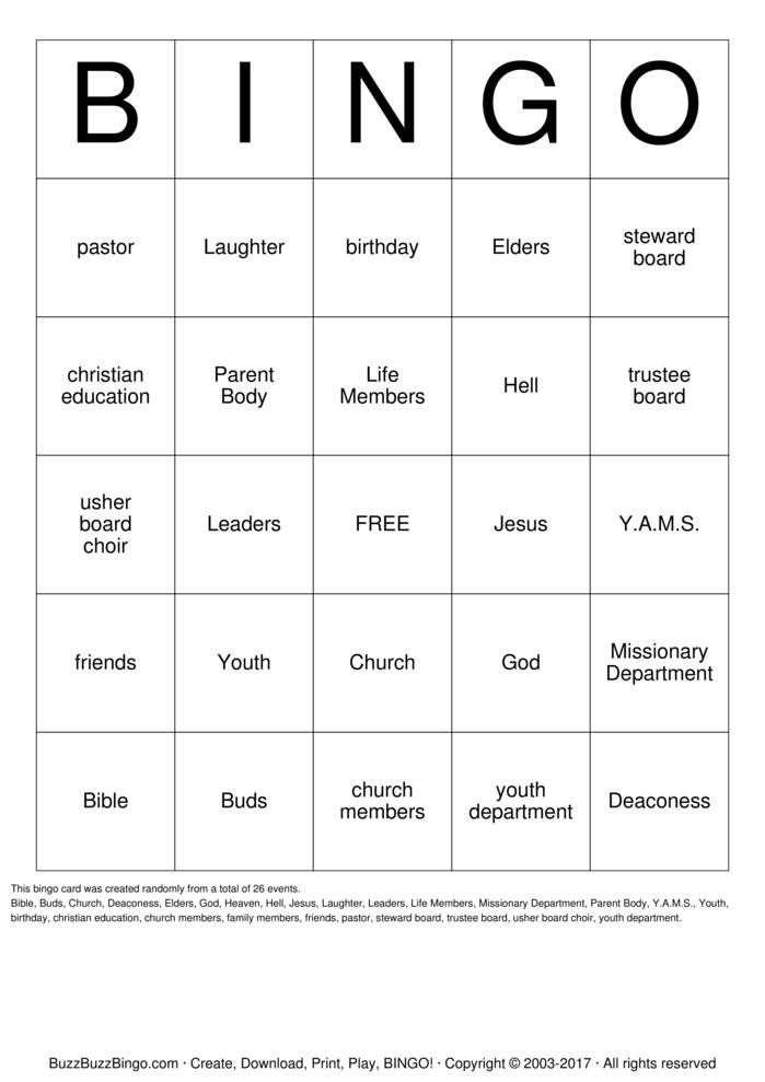 Custom Bingo Cards to Download, Print and Customize!