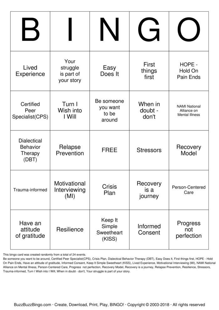 Download BINGO Bingo Cards