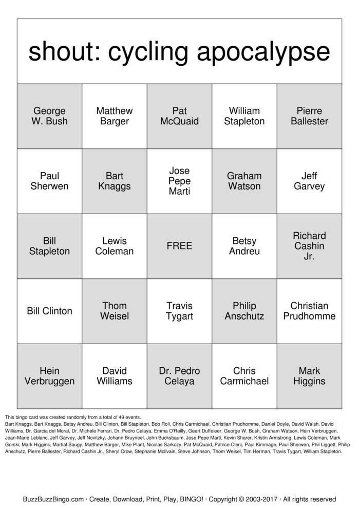 BuzzBuzzBingoCreate, Download, Print, Play, BINGO!Play Buzznames Bingo Bingo