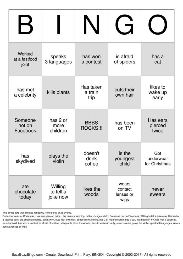 PeopleBingo-14659.jpg (699×989) | People Bingo | Pinterest