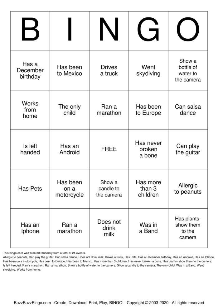 Download Free Retrospective Bingo Cards