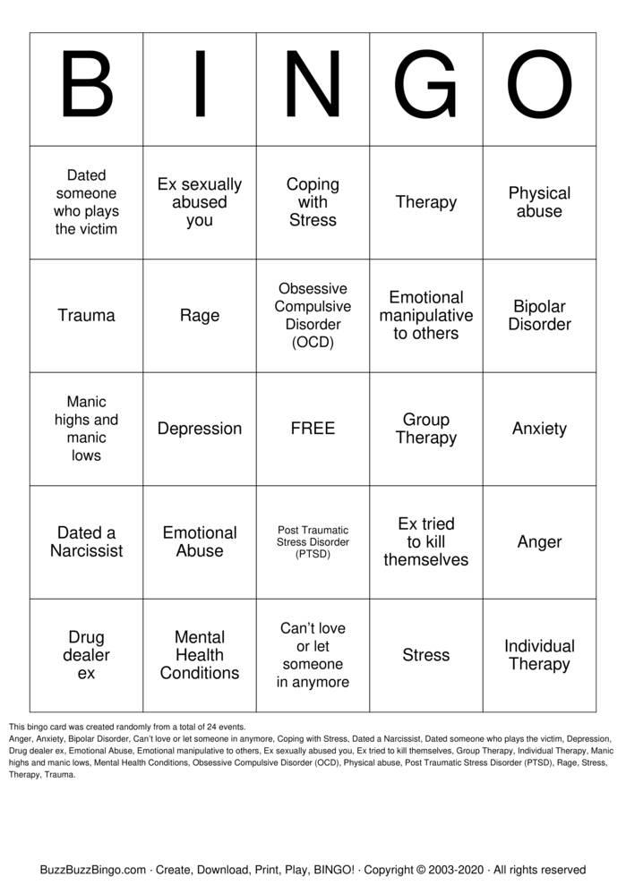 Download Free Surprise  Bingo Cards