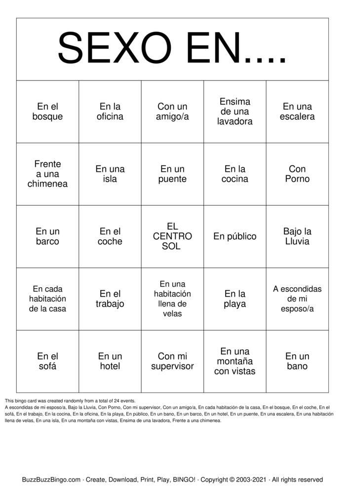 Download Free LAS SUCIAS Bingo Cards