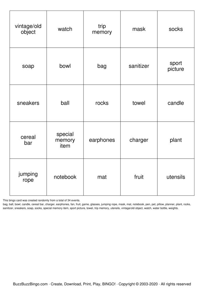 Download Free Coffee Hour Bingo Cards