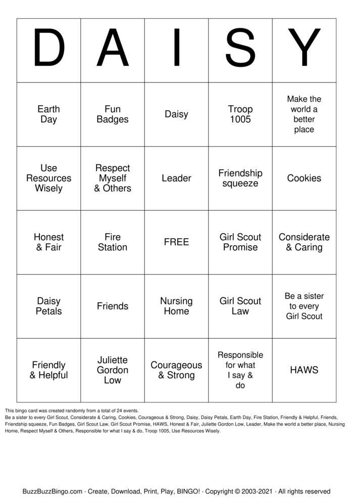 Download Free Earth Day Bingo Bingo Cards