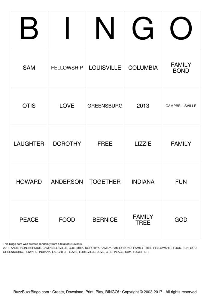 Download Anderson Family Game Bingo Cards