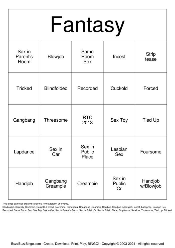 Download Free Fantasy Bingo Cards