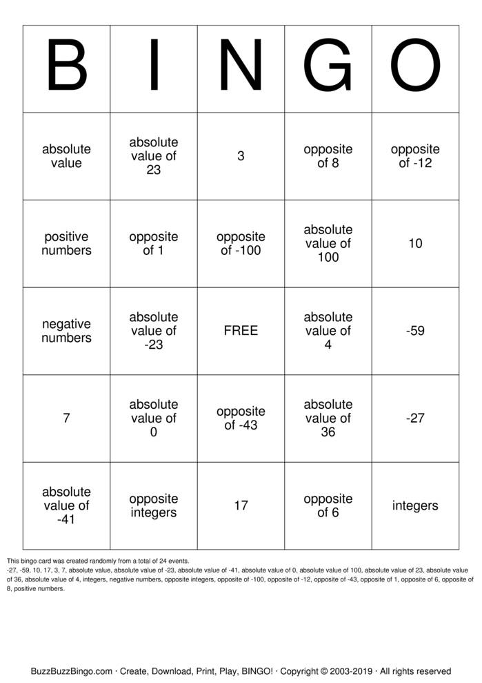 It's just a photo of Printable Multiplication Bingo in easy
