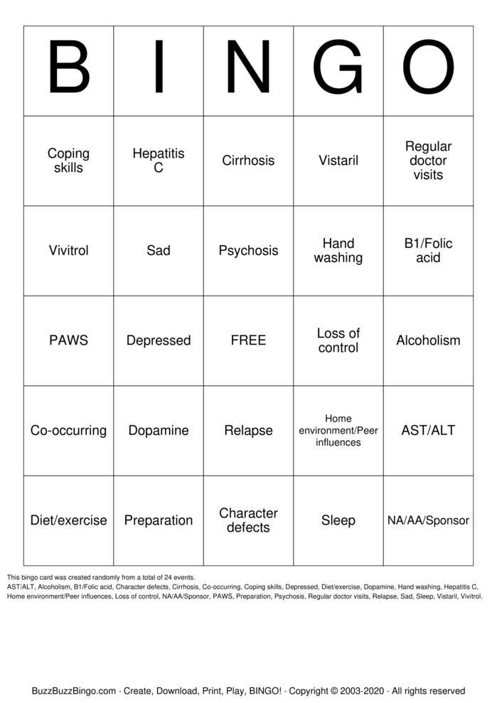 Download Free Belleville IP Bingo Cards