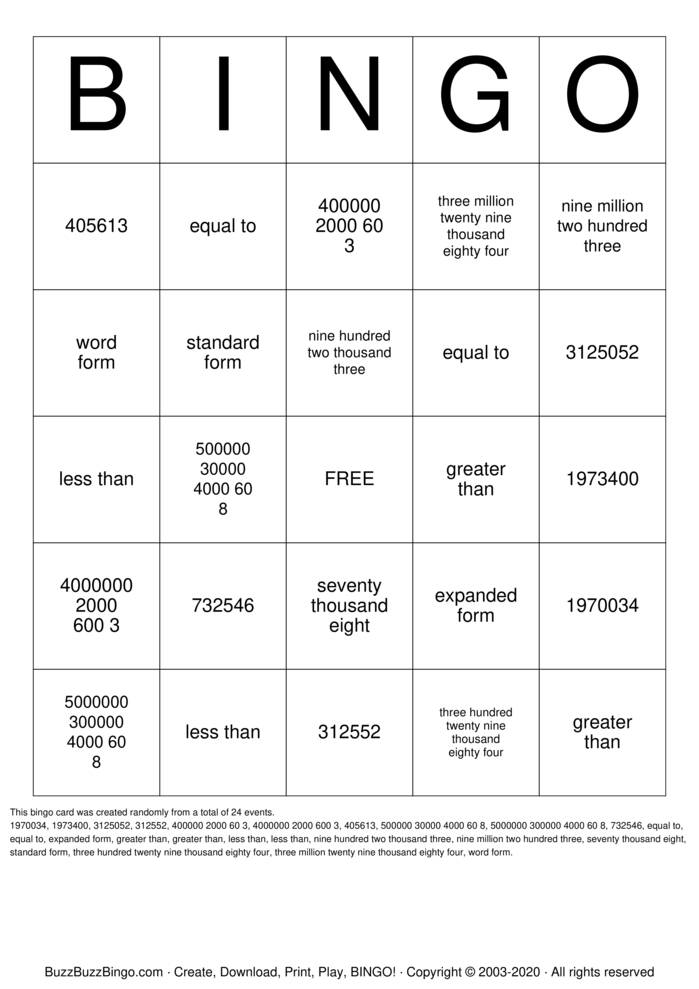Download Free Chapter 1 review Bingo Cards
