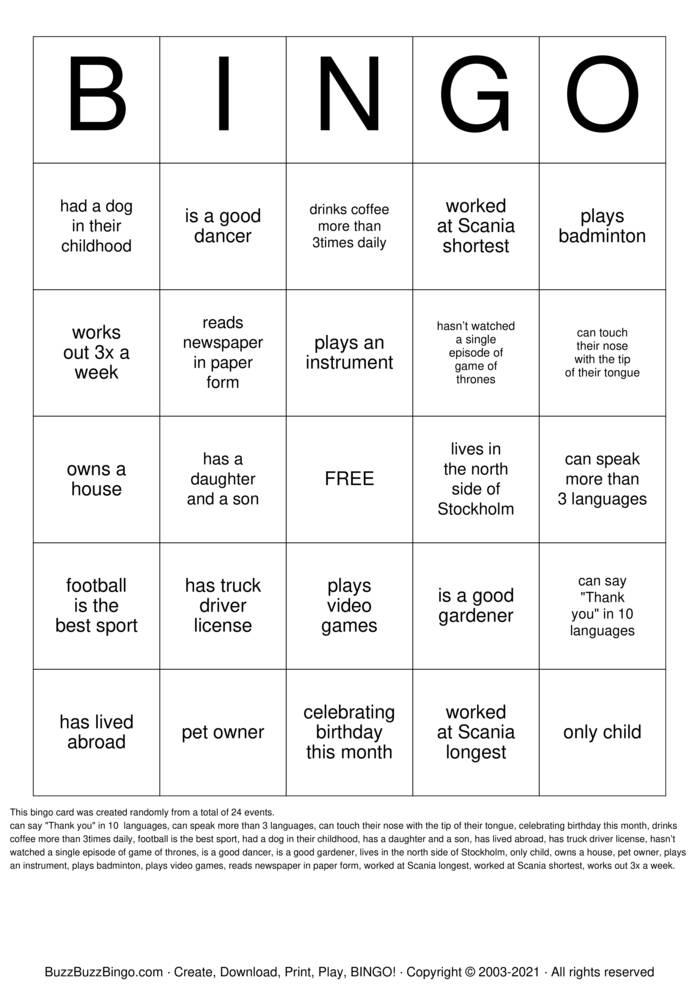 Download Free Meet Me Bingo Bingo Cards