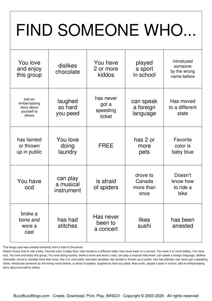 Download Free  Bingo Bingo Cards
