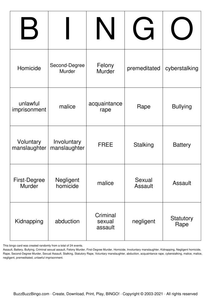 Download Free Chapter 9 Bingo Bingo Cards
