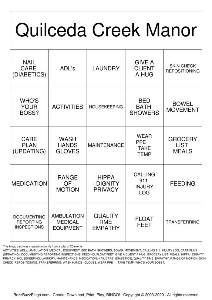 Download Free   Bingo Cards