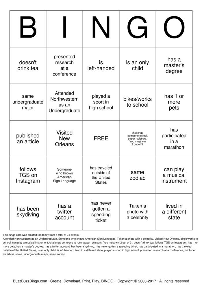Download Find Someone Who Bingo Cards