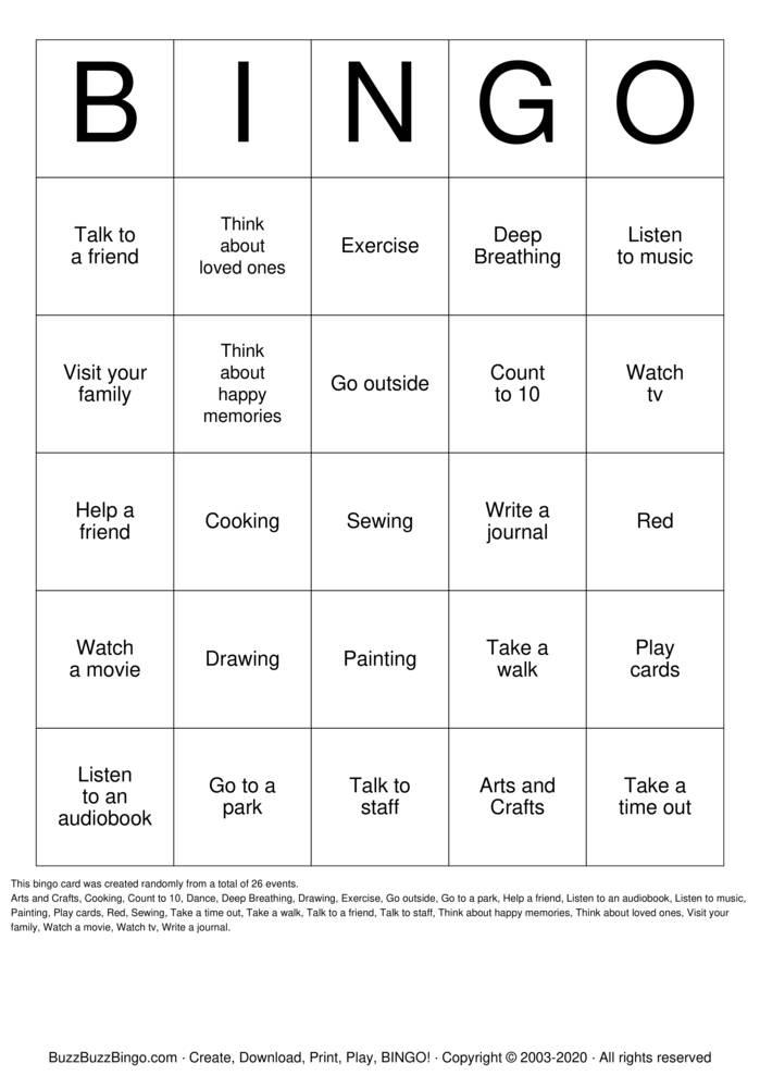 Download Free BINGO Bingo Cards