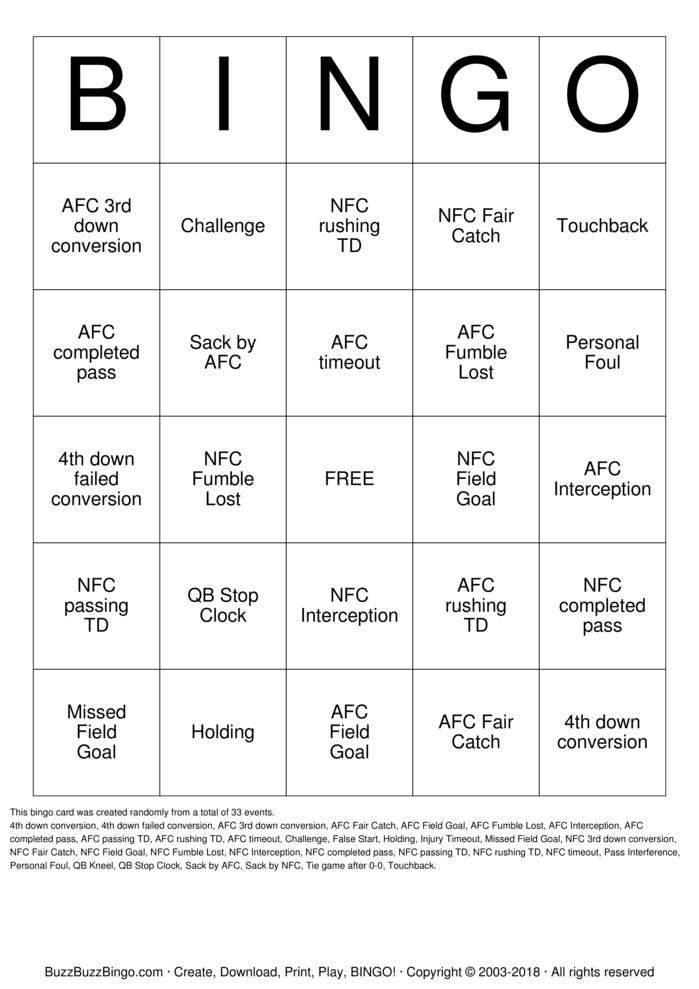 Download Free Jeff's SuperBirthday XLV  Bingo Cards