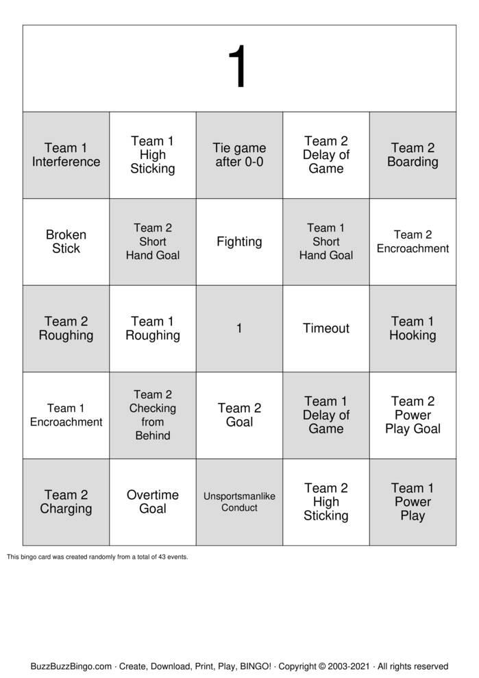 Download Free V1uPIKzG Bingo Cards