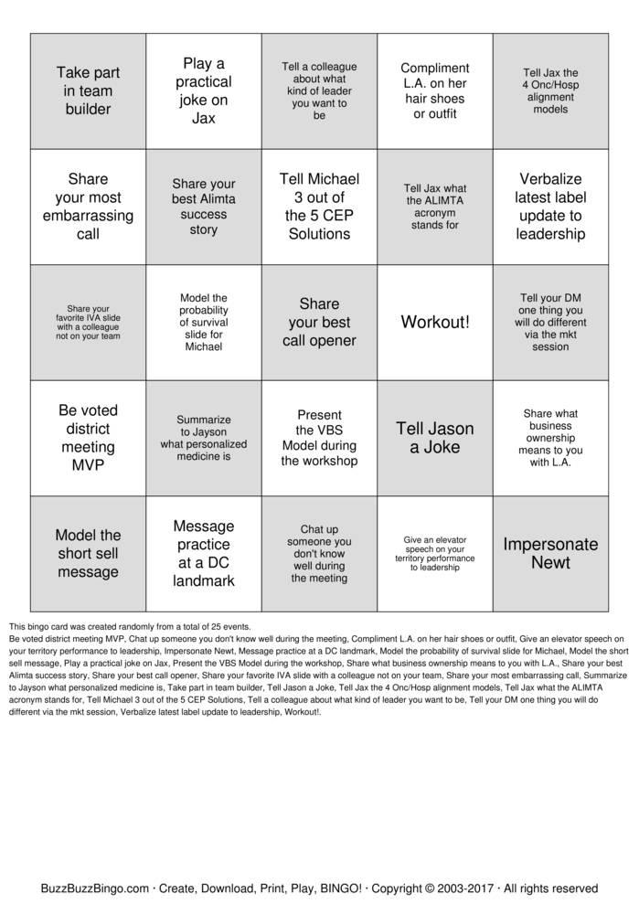 Download Free PEMGO Bingo Cards