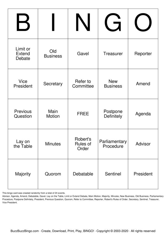 Download Free AKA HOw We Are Govern Bingo Cards