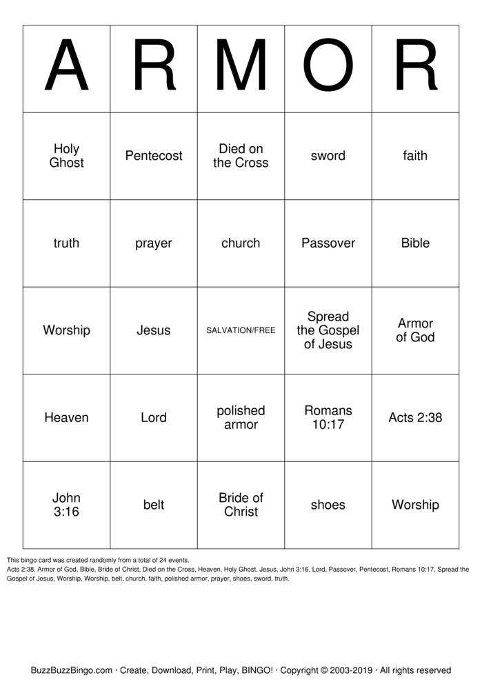 image regarding Acts Prayer Printable identified as Bingo Playing cards towards Obtain, Print and Customise!