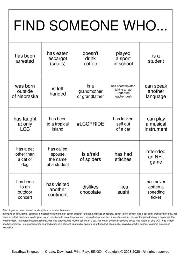 Download Free Happy New Year Bingo Cards